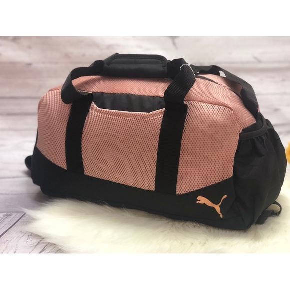 Puma Evercat revive duffel Athletic gym bag pink 0f58f91d928c6